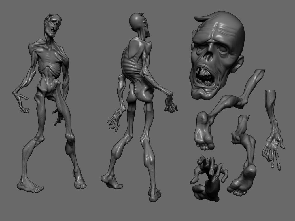 ZombieConceptSculpt_Tabor